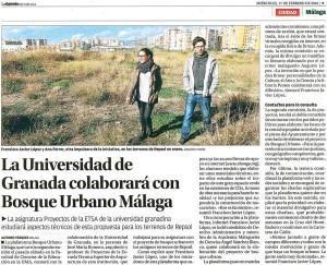 La Opinión de Málaga, 17 de febrero de 2016